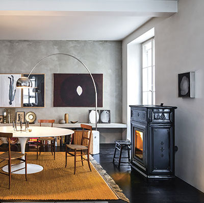 SERGIO LEONI-luxusní kamna na pelety i dřevo.