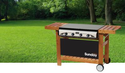 SUNDAY-grily, pece, zahradné krby